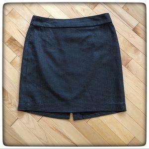 🤩Banana Republic Black and Gray Skirt